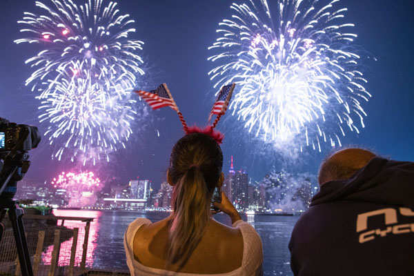 Spectacular pictures from US Independence Day celebrations