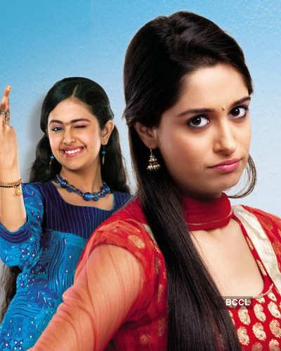 Avika Gor, Deepika Samson in a still from the TV show ...  Avika In Sasural Simar Ka