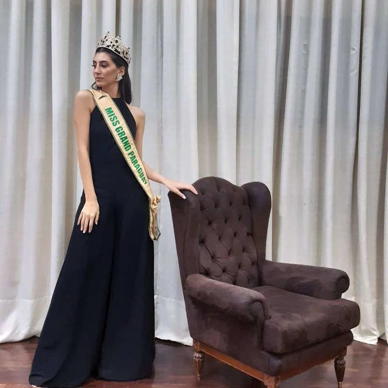 Andrea Jimena Sosa selected as Miss Grand Paraguay 2021