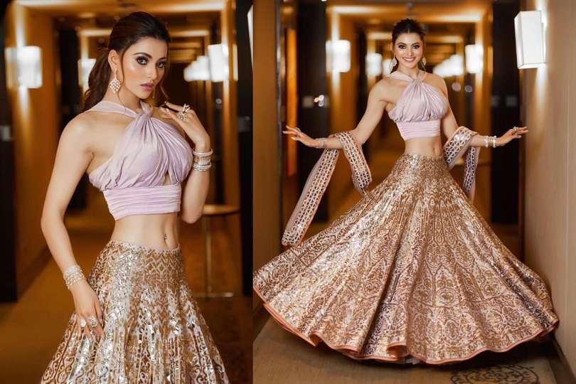 Urvashi Rautela's trendy lehenga takes the internet by storm