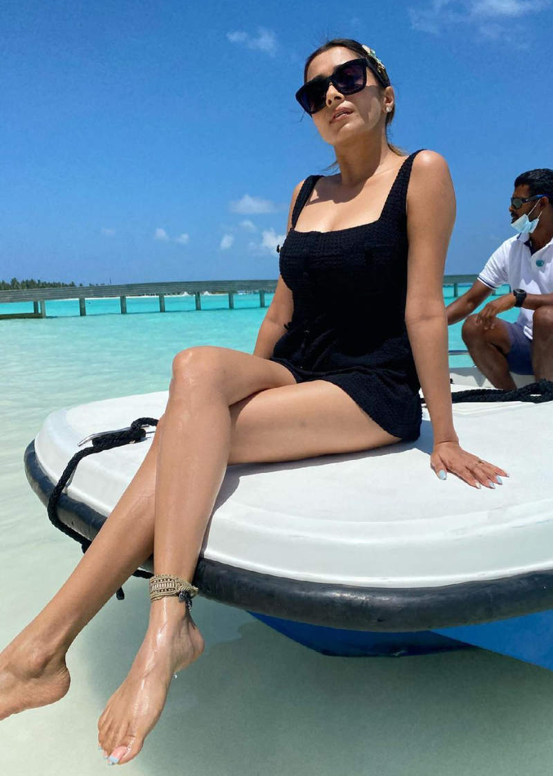 New holiday pictures of Tina Datta are breaking the internet!