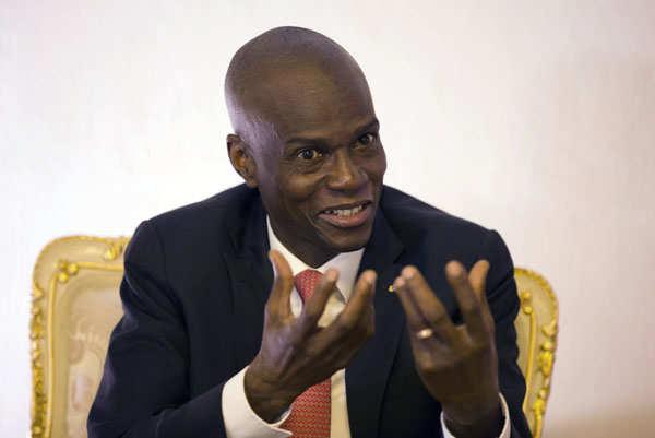 Pictures of assassinated Haiti President Jovenel Moise