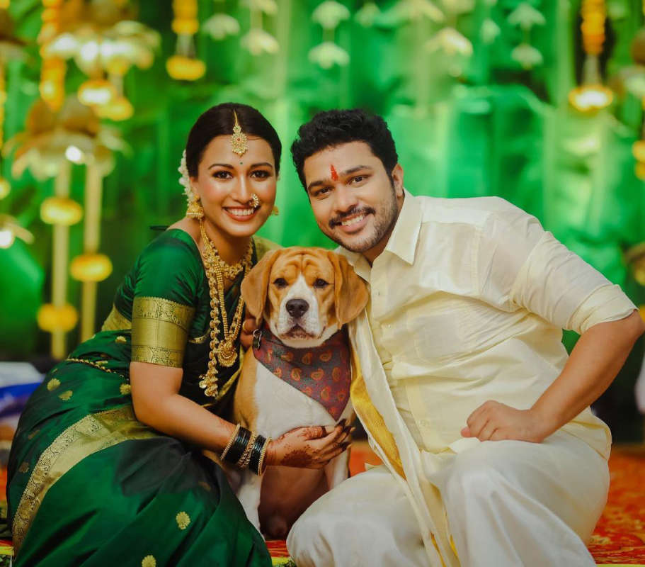 Inside pictures from Suyash Tilak's engagement with ladylove Aayushi Bhave