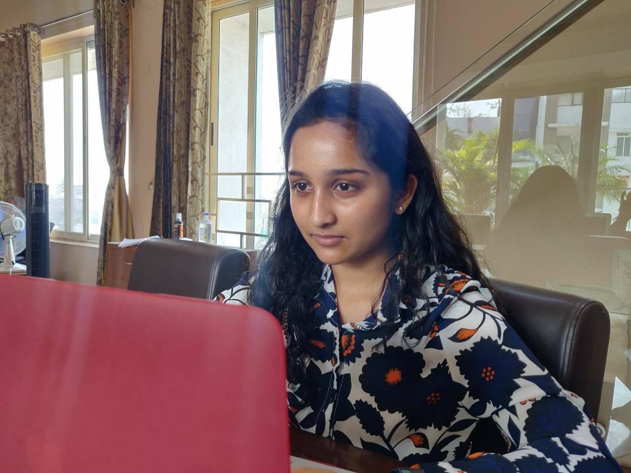 Pune girl tops class XII IB Board