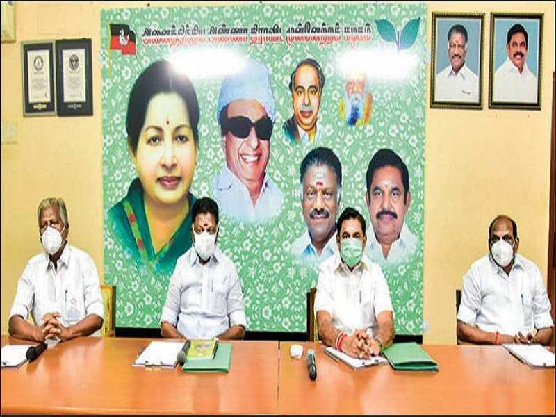 AIADMK poll strategy comes under lens