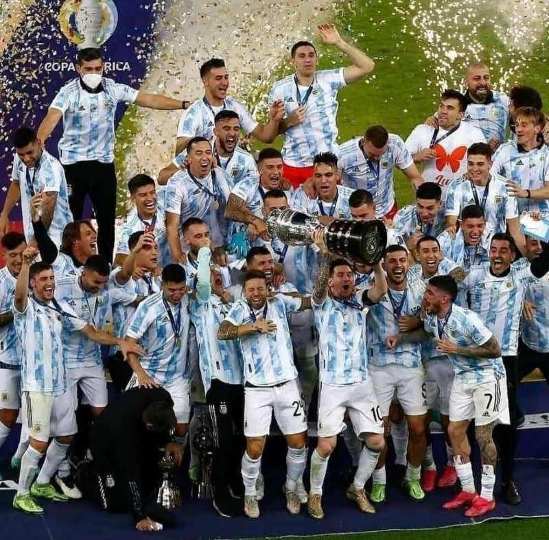 Messi wins first senior International trophy