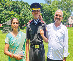 Life in fields prepared farmer's son for Army