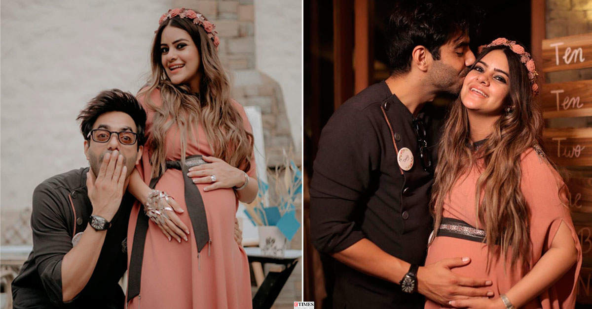 Aparshakti Khurana and wife Aakriti treat fans with adorable pictures from baby shower
