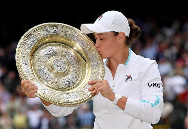 Best images from the Wimbledon tennis tournament