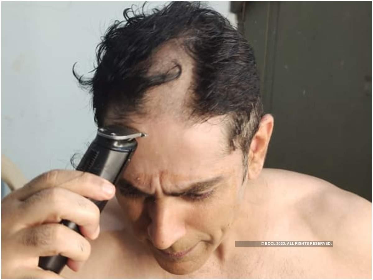 Tarun Khanna goes bald