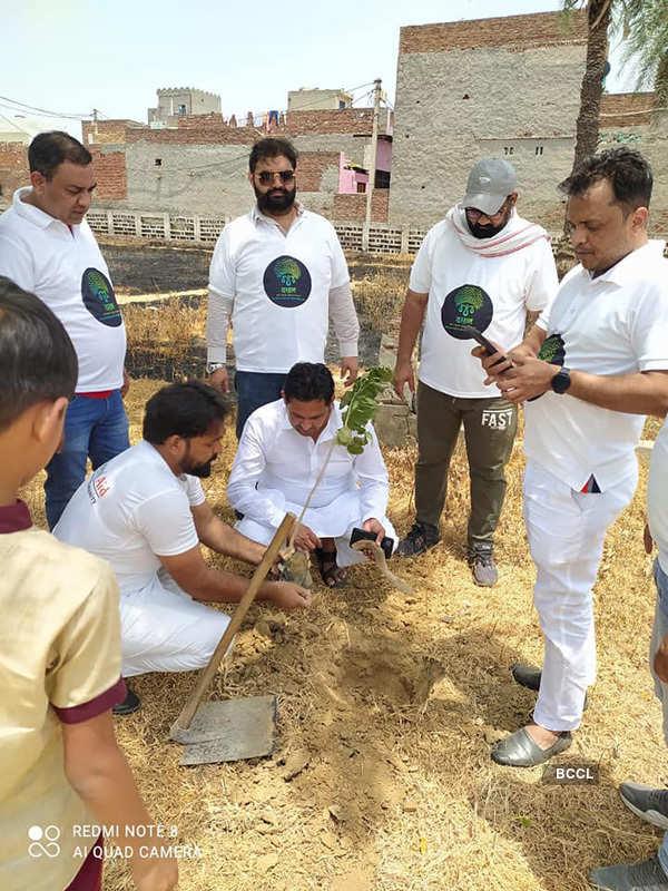 National Aid organises mega plantation drive