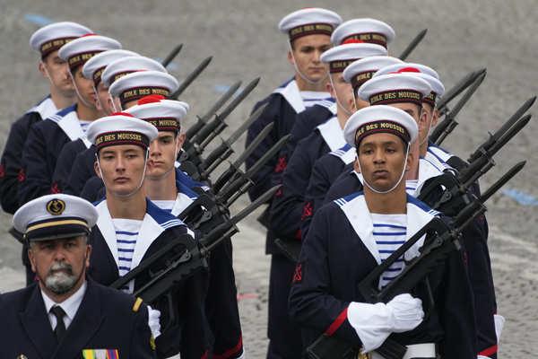 France celebrates Bastille Day
