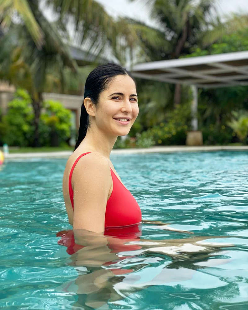 Katrina Kaif is teasing fans with her new pool picture