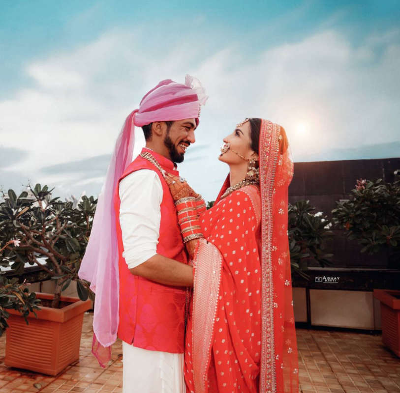Beautiful pictures from Shiny Doshi's intimate wedding ceremony go viral