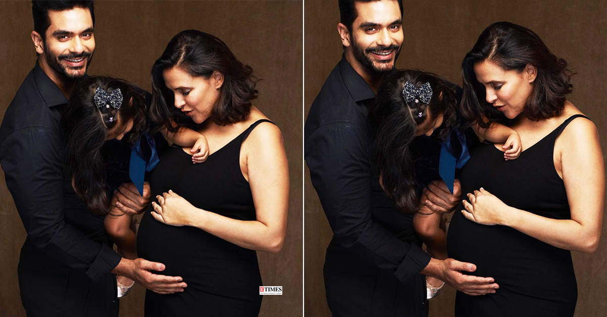 Mommy-to-be Neha Dhupia flaunts her baby bump in this new picture