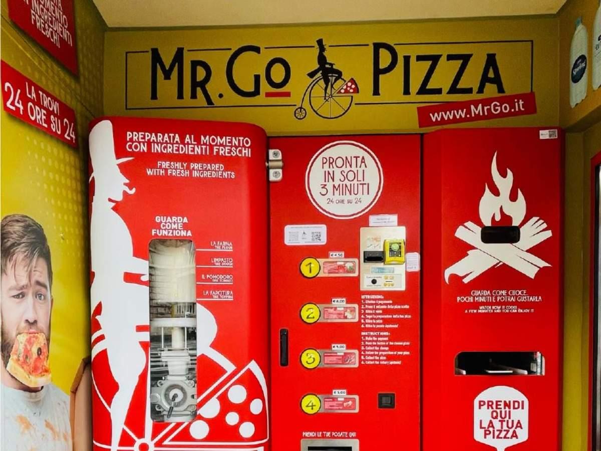 L'Italia ottiene il suo primo distributore automatico di pizza