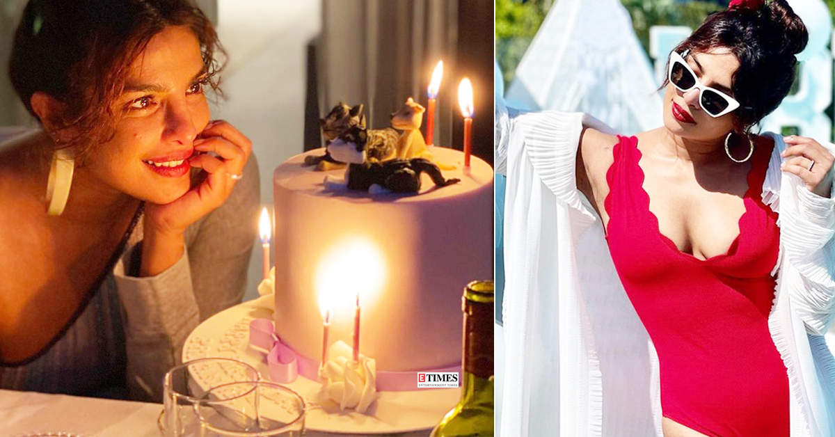 These stunning pictures from Priyanka Chopra's 39th birthday celebration prove she had a gala time