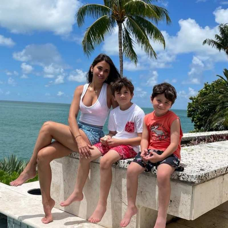 Lionel Messi holidays in Miami with wife Antonela Roccuzzo and kids, see photos