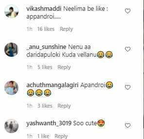 Netizens on Neelima