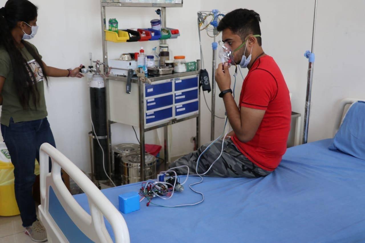 IIT Ropar develops oxygen rationing device AMLEX