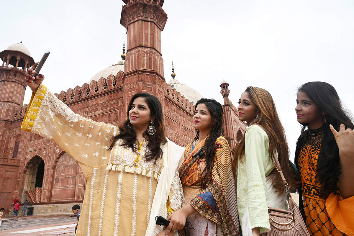 Colourful pictures from Eid celebrations across the country amid COVID-19