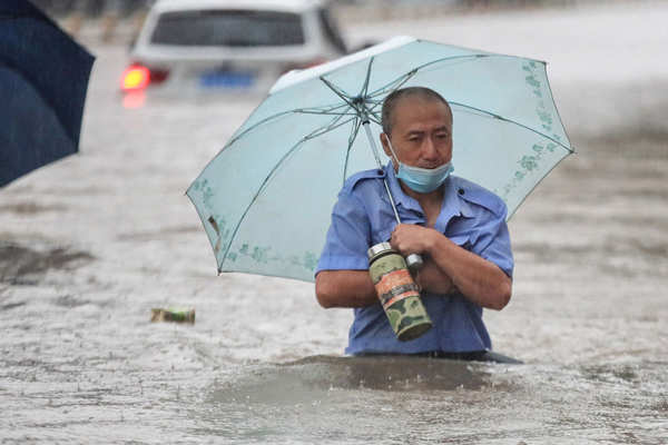 Deadly floods leave trail of destruction in China