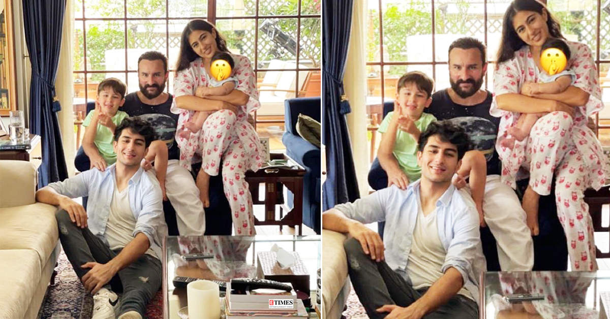 Sara Ali Khan shares FIRST-EVER picture with her half-baby brother, Jeh