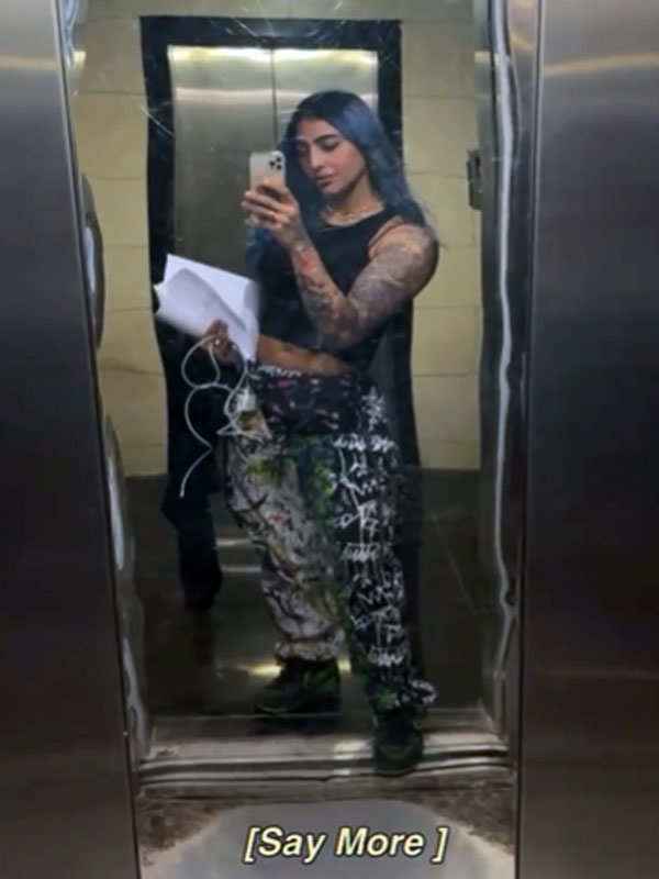 VJ Bani J's workout pictures are giving us major fitness goals