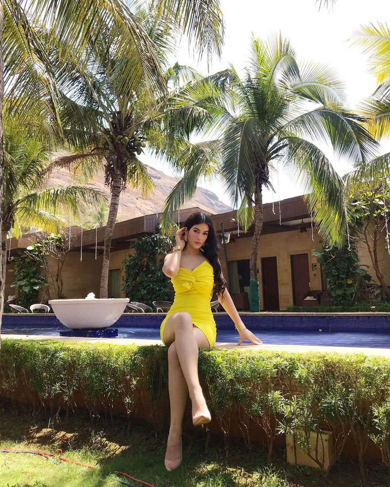 Former Bigg Boss 11 contestant Bandgi Kalra turns heads with her throwback vacation pictures