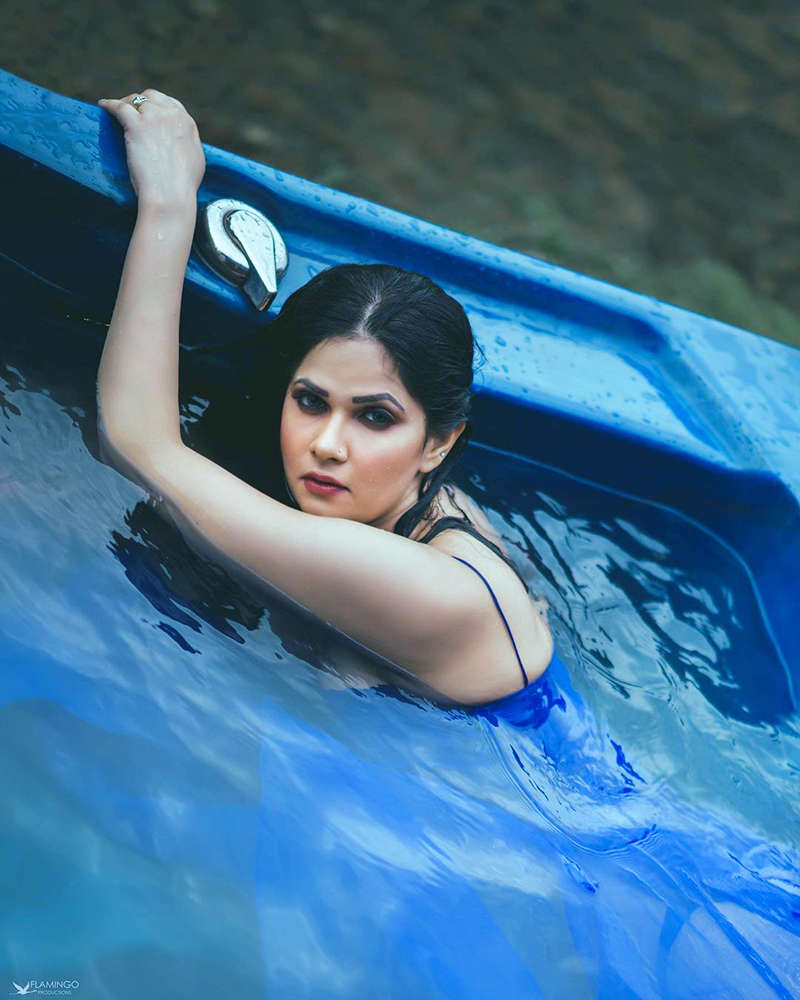 Captivating pictures of Aabha Paul are sweeping the internet