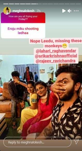 Meghna and her co-stars