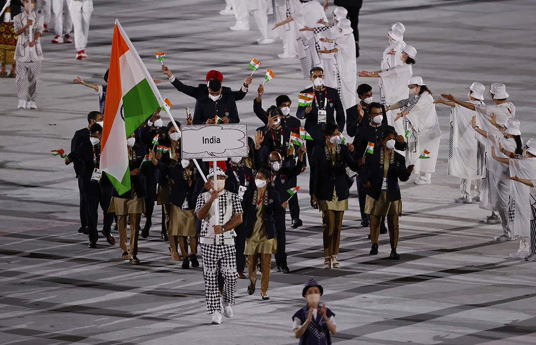 Tokyo Olympics 2020 opening ceremony in photos: Games open amid pandemic and protests