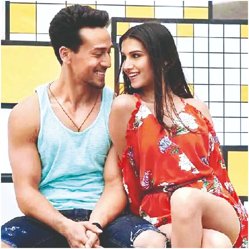 Tiger Shroff and Tara Sutaria in Student of the Year 2