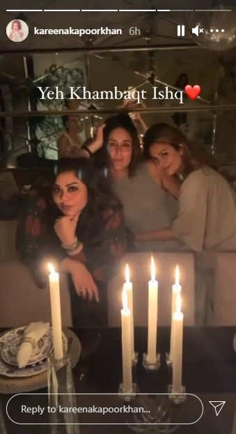 kareena Kapoor khan, malaika arora, amrita arora