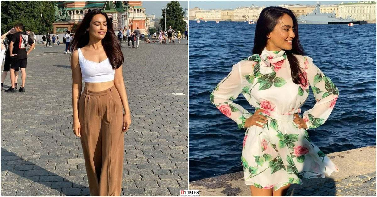 Surbhi Jyoti floods social media with breathtaking moments from her exotic vacation