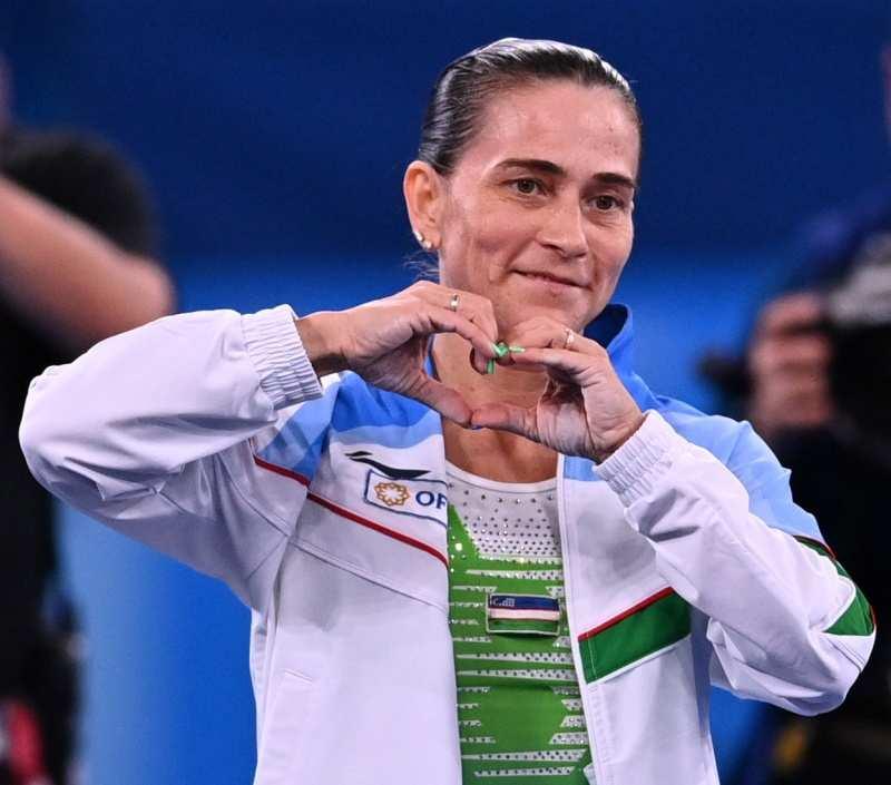 Oksana Chusovitina at Tokyo Olympics 2020: Tears and standing ovation, ageless gymnast's final moments at the Games