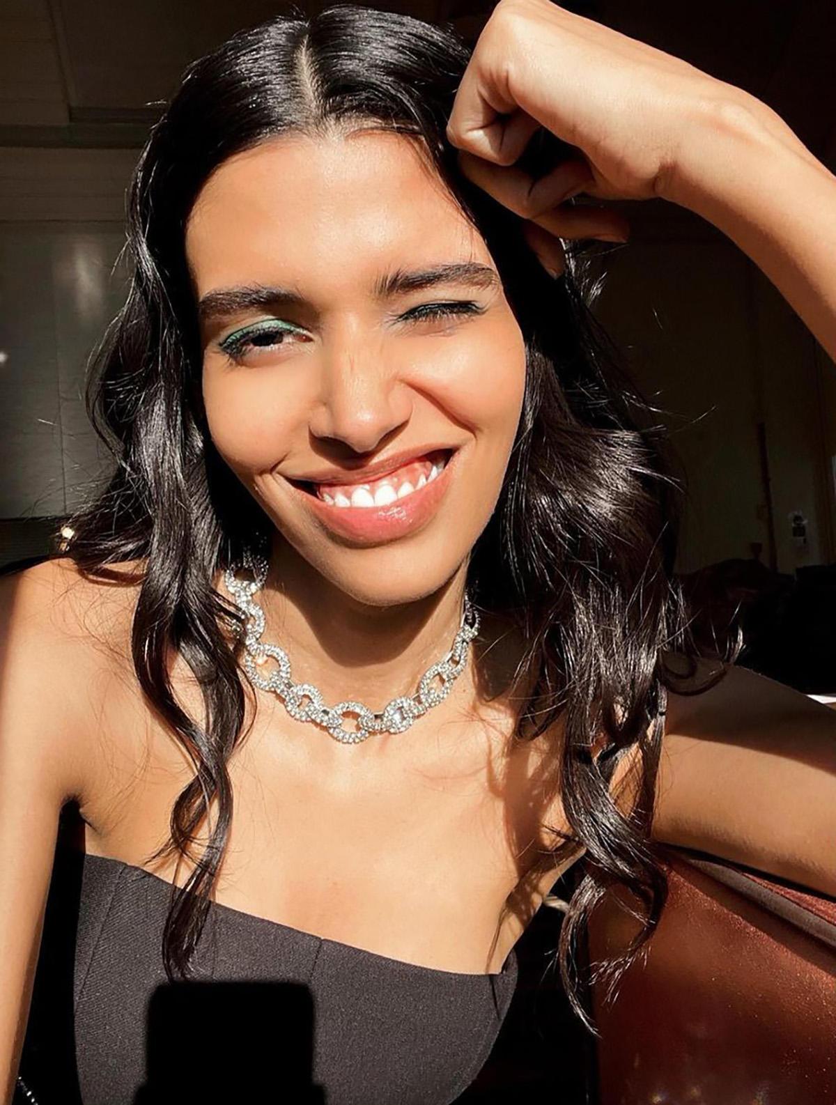 Pooja Mor' an engineer who walks for international labels
