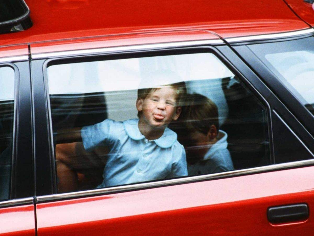 In pics: Royal children caught being naughty