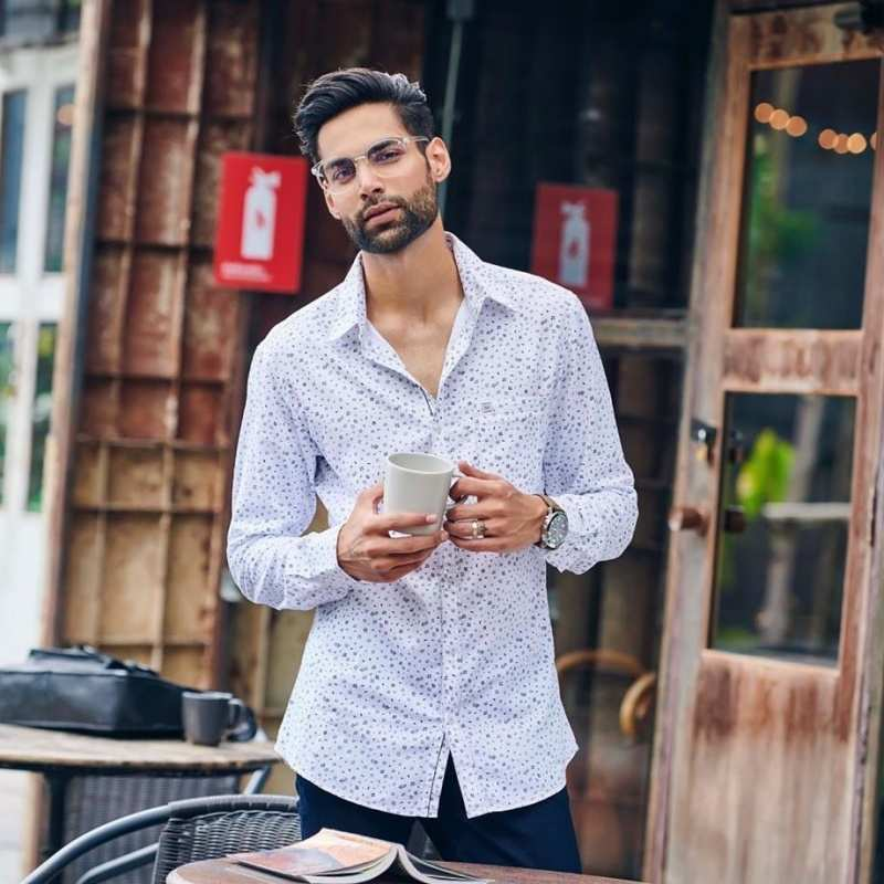 Prabh Uppal amps up the style game with his fashionable pictures