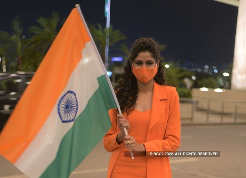 India's Aavriti Choudhary departs for Poland to represent India at Miss Supranational 2021