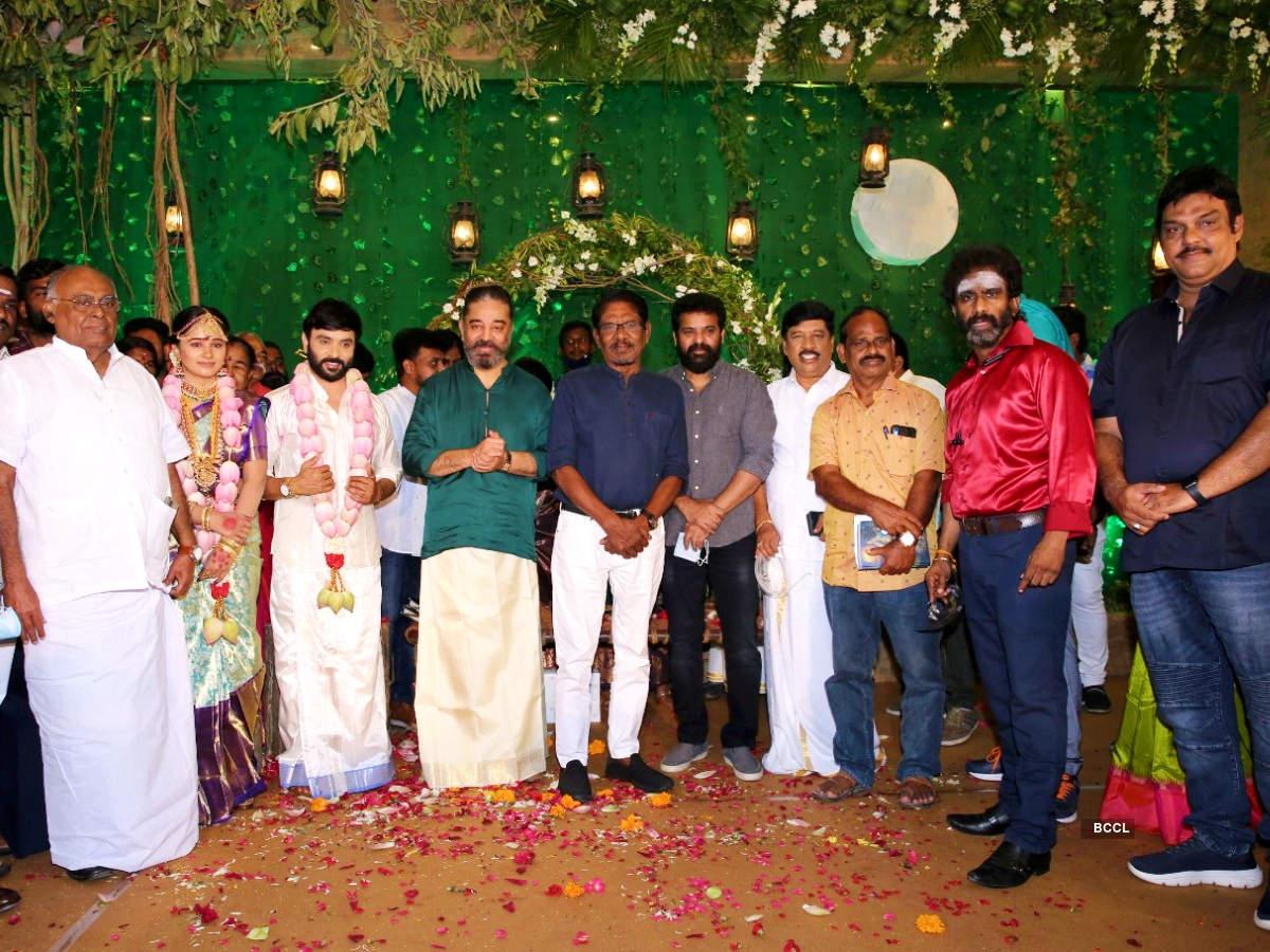 Bigg Boss Tamil 1 fame Snekan Sivaselvam aka Snehan ties knot with actress Kannika Ravi with blessings of Kamal Haasan, Bharathiraja and others