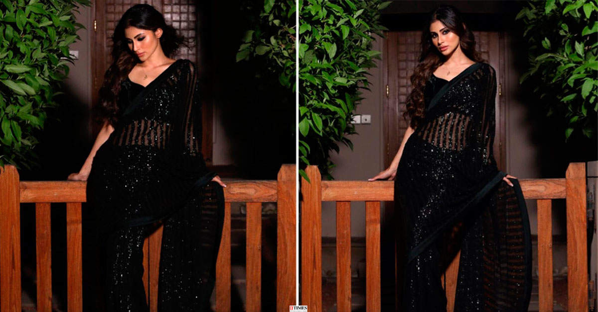 Mouni Roy's jaw-dropping saree looks will leave you asking for more!