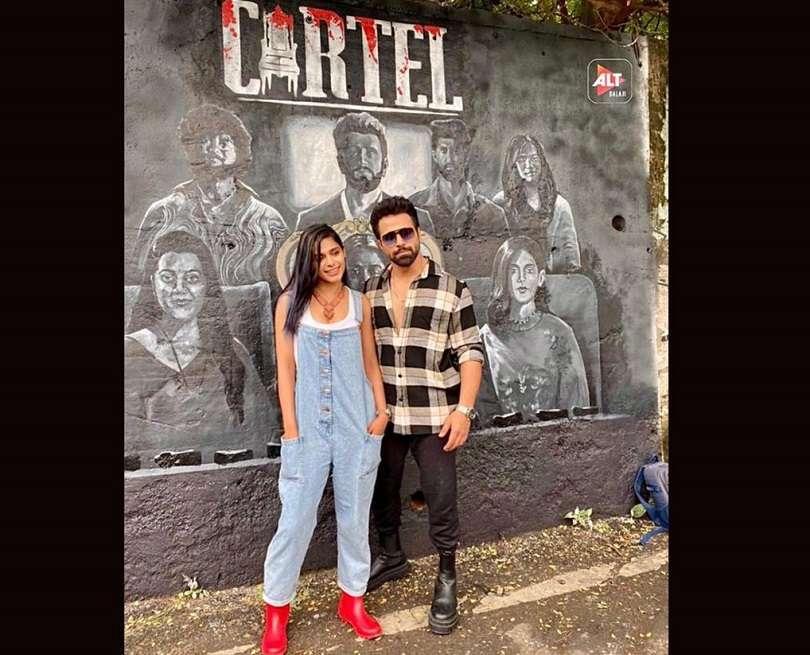 Pranati Rai Prakash unveils the graffiti ensembl poster of 'Cartel' with Ritvik Dhanjani