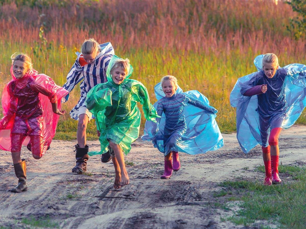 Raincoats for kids that will keep them dry during heavy rain showers