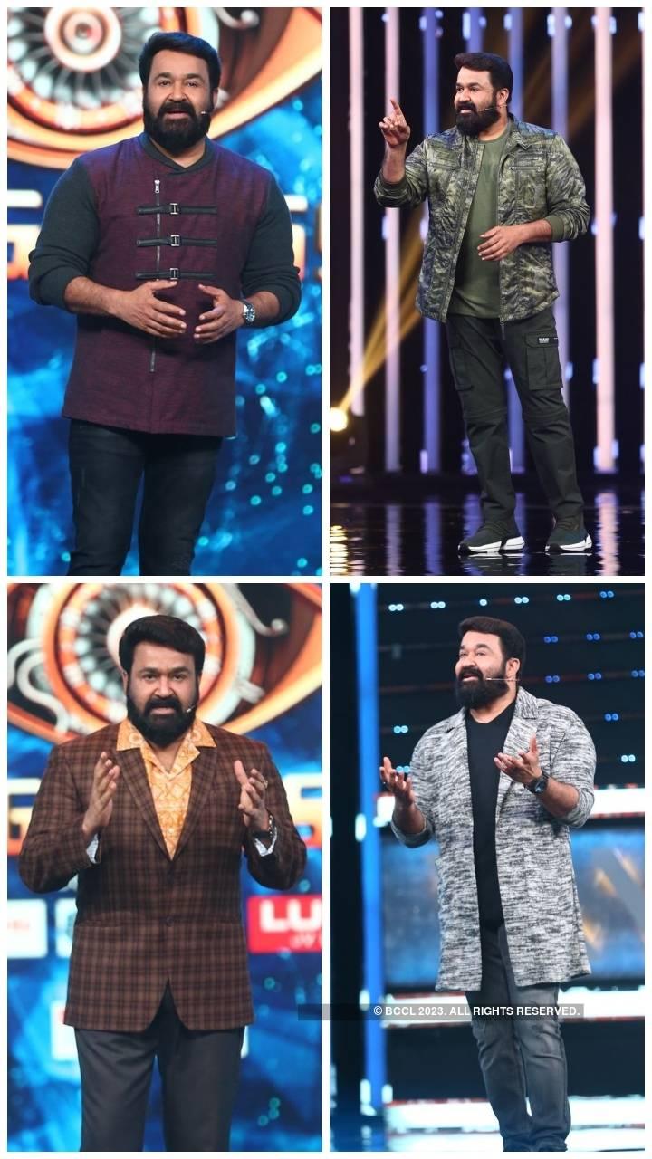 Bigg Boss Malayalam 3: Times host Mohanlal slayed the fashion game