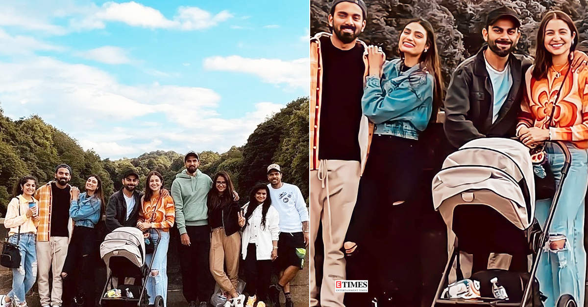 New holiday pictures of Anushka Sharma & Virat Kohli with other Indian cricketers will make you pack your bags