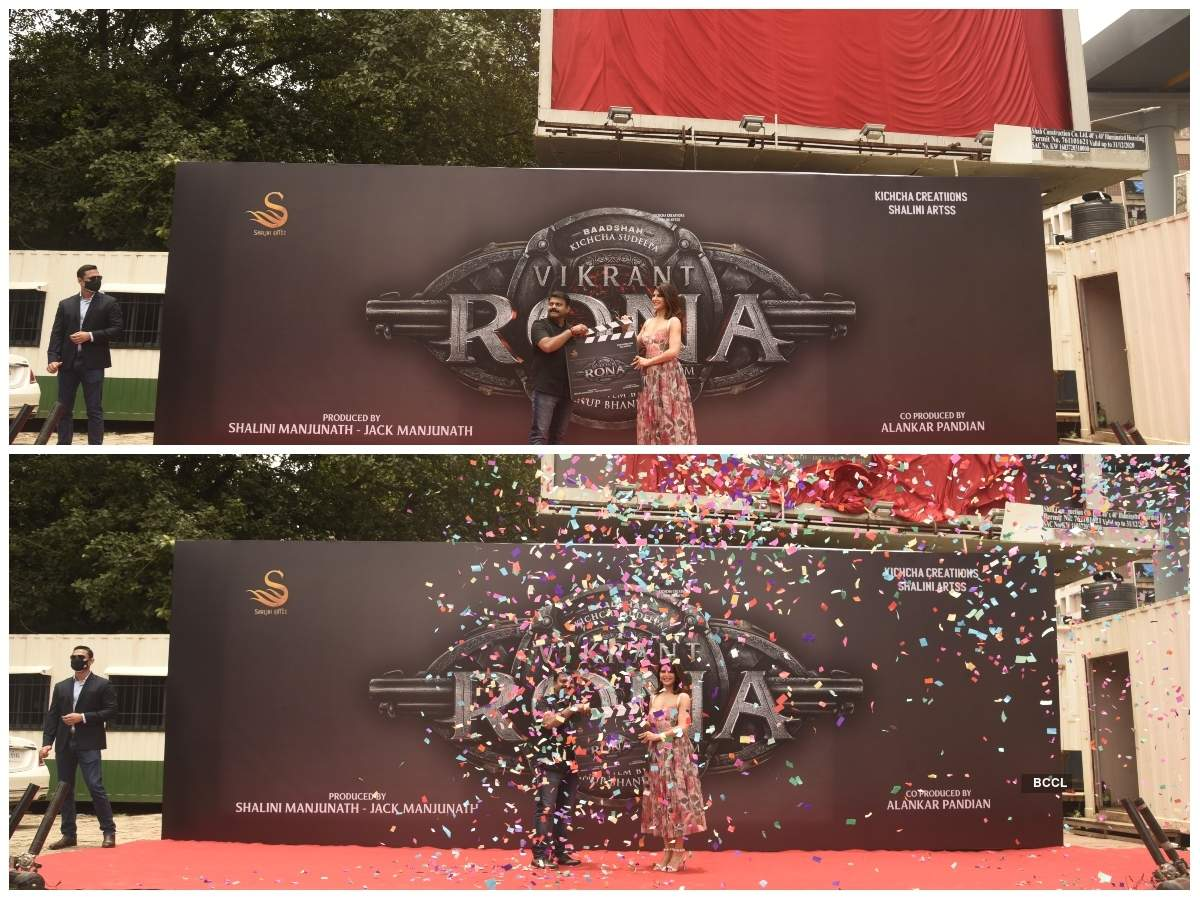 Team 'Vikrant Rona' unveils Jacqueline's first-look