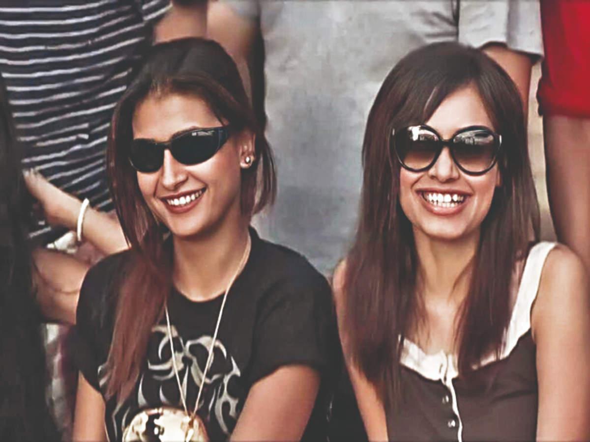 Pavitra Punia with BFF Kriti Sharma