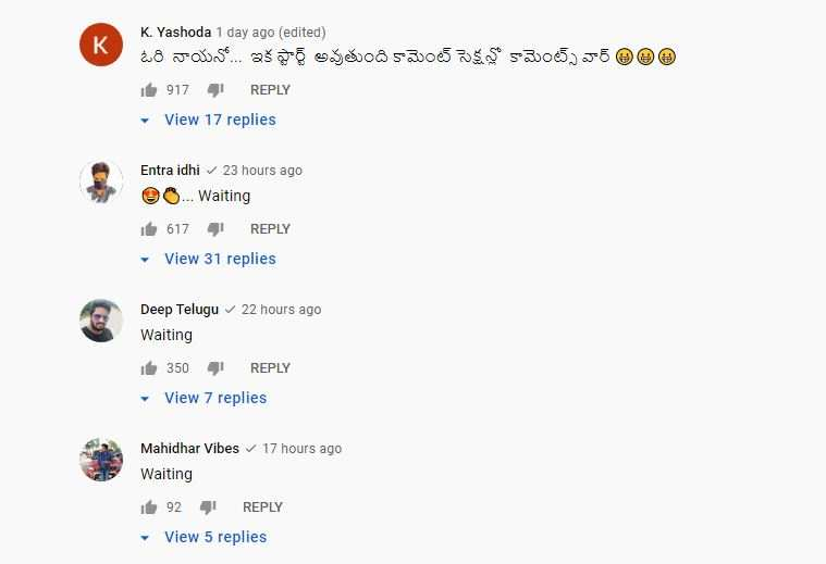Netizens on BB5 teaser