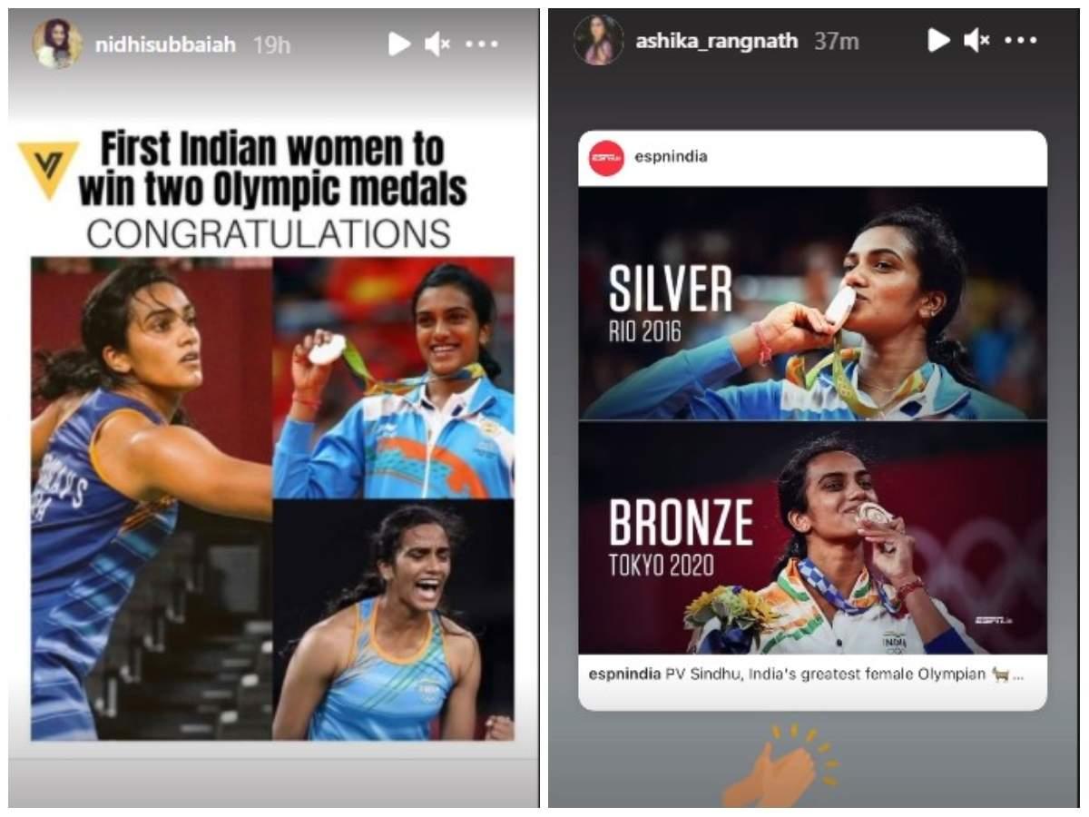 Ashika Ranganath and Nidhi Subbaiah